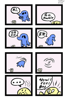 Ghost comic by tacbot89