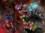 Piltover chaos by clau-wolfy