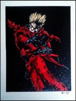 Vash the Stampede by sharnuyt