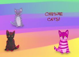 adopt a chesire cat OPEN by HappyDucklings