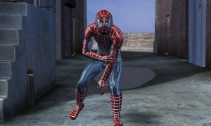 Spiderman in fuga by hiram67