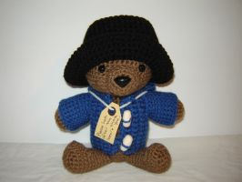 Paddington Bear by Ginger-PolitiCat