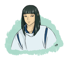 Spirited Away - Older Haku Dribble by crusanite