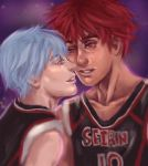 KagamiXKuroko by tallandquirky