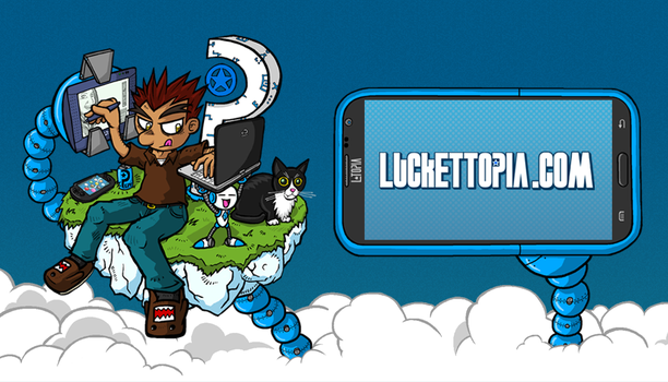 LUCKETTOPIA 3.0 Website now live! by luckettx