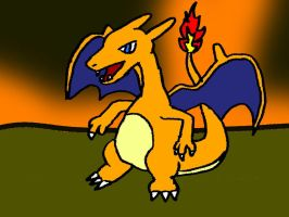 Charizard by Fuzzbyroo
