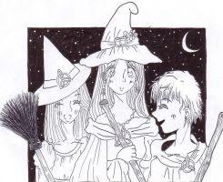 Charmed Halloween unfinished by sakura62687