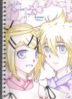 Senbonsakura - Len x Rin by AnImAtEd-MeDoW