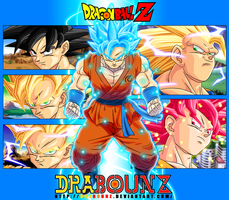 Goku transformations by DrabounZ