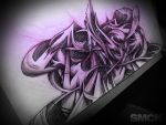 Graffiti sketch by SmecKiN