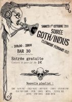 Soiree goth Indus by Allosaure