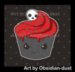 deviantART: More Like Deliciously evil cupcake by Obsidian-