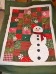 Snowman Quilt by olivia808