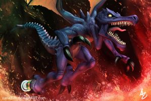 Ridley's Lair. by VariaZim