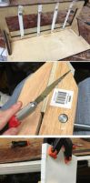 How to sew book binding by Athey
