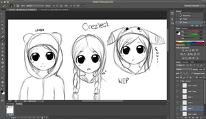 .: Onesies - WIP :. by T-e-a-K-i-t-t-y