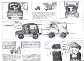 Tailgating Comic by Mirlin
