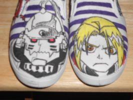 FMA:B Shoes: Front view by CronaBaby