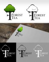 Forest tea logo by Mayones