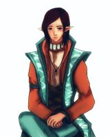 Inquisitor Lavellan by Gravianime65