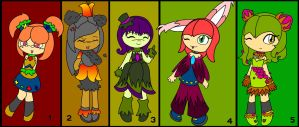 Bid Seedrian Adoptables by CuteCosmo
