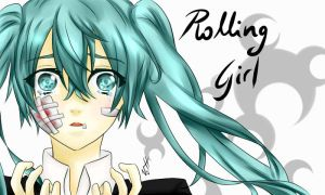 Rolling Girl by L0veIsVictory