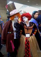 Otakon 2010- Mad Hatter 1 by SweeneyT-DemonBarber