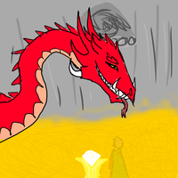 Smaug the magnificent by FrostySheeps
