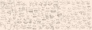 Many Mouths by the-b3ing