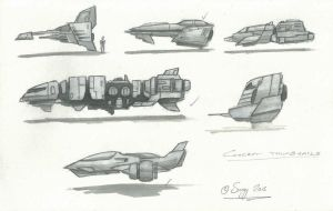 Concept ship Thumbnails by SARGY001