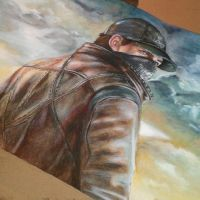 Aiden Pearce w.i.p by hyalokinesis