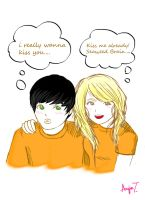 Percy and Annabeth by RoMaCeKiD