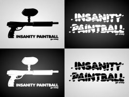 Insanity Paintball Logo by wilsoninc