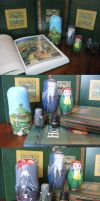 The Hobbit - Matryoshka dolls by Charis