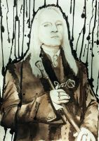 Lucius Malfoy by gone-phishing