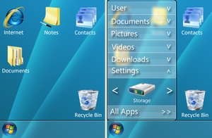 Windows Mobile Concept UI by Pokehkins