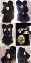 Saber Tooth Panther Head angles by Adele-Waldrom