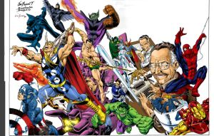 stan lee colors by comicsofjoebennett
