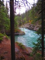 Maligne Canyon --- one by CameraCoatedCreator