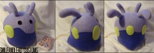 Goomy Plush by SmileAndLead