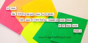 The Daily Magnet #280 by FridgePoetProject