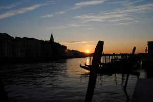 Venice at Dawn by Aestera