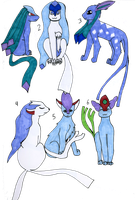Espicune and Glacicune FREE adopts by Sparrow-Kaizu