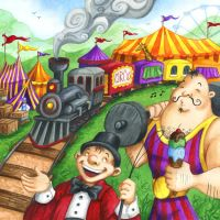 Circus Train by Isynia-Artessa