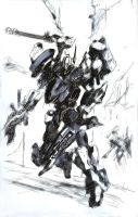armored core by AxlNS401