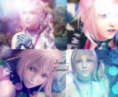 Serah and Lumina volume 2 by rydiafftay