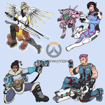 Overwatch lady doodle 02 by VachalenXEON