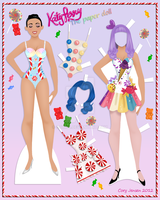 Katy Perry Paper Doll by Cor104