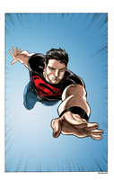 SuperBoy Conner Kent by Balla-Bdog