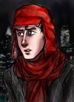 Holden Caulfield by pebbled
